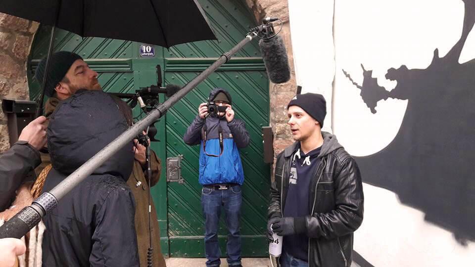 Arté interviewt Max Kosta in Eisenach