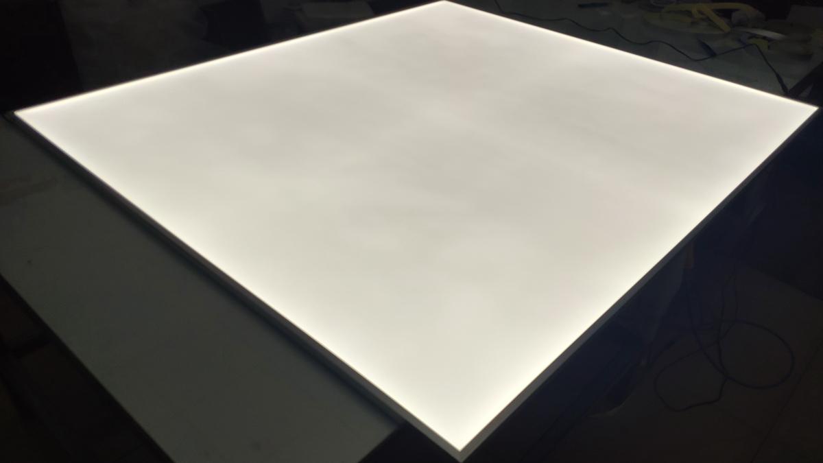 led light panel backlit photo negative