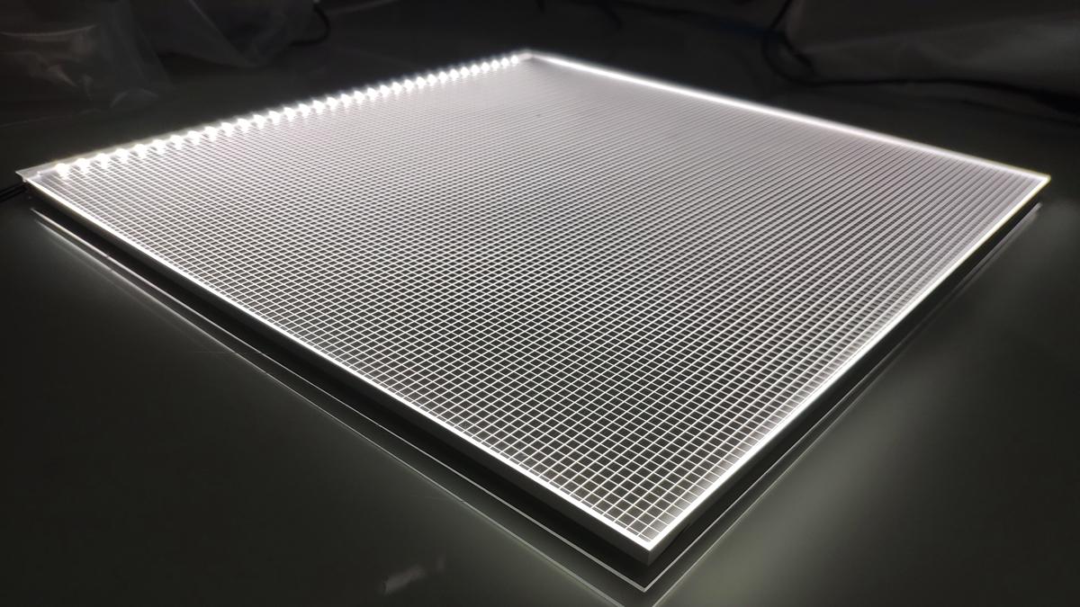 Food counter led light panel