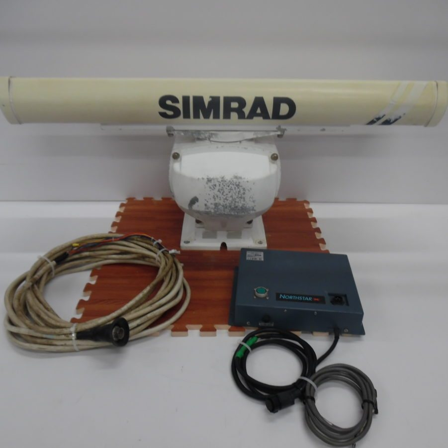 medium resolution of northstar simrad 4kw 3 5 antenna add on f 6000i 6100i