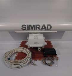simrad lowrance 6kw 4 hd digital radar open array rdr1064 nse nss nso evo 1 2 3 max marine electronics [ 1024 x 768 Pixel ]