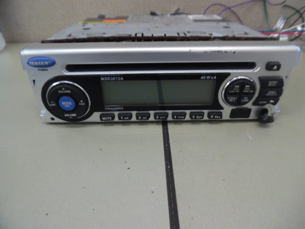 Jensen Car Radio Stereo Audio Wiring Diagram Autoradio Connector Wire