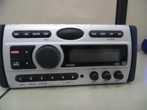 small resolution of clarion cmd5 marine stereo head unit w wire harness fully tested max marine electronics