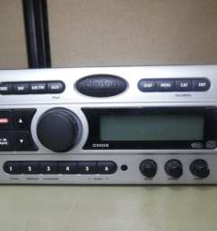 clarion cmd5 marine stereo head unit w wire harness fully tested max marine electronics [ 1024 x 768 Pixel ]