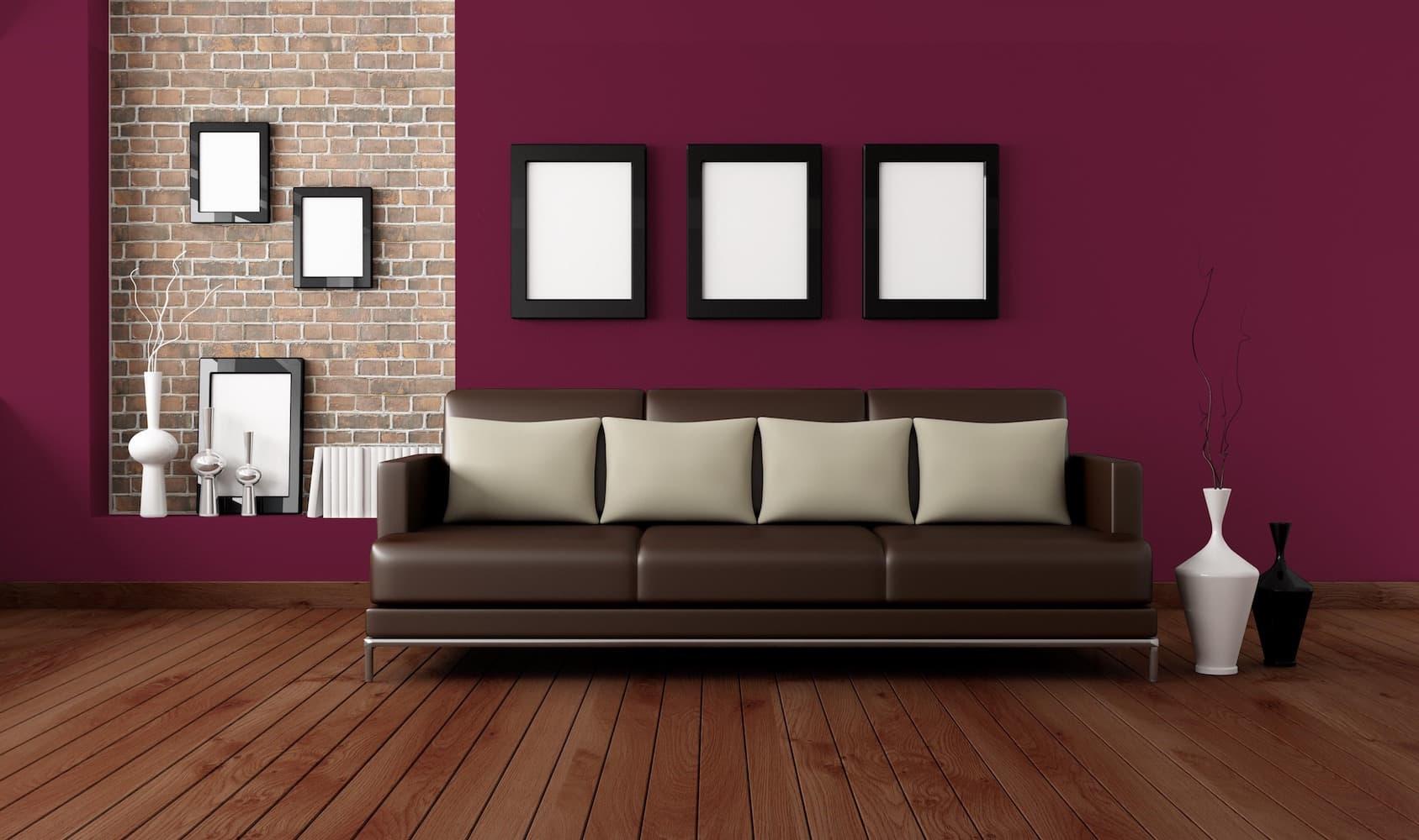 Molto usato per dipingere camere da letto, soggiorni, zone studio nelle tonalità del magenta o del glicine, fino al viola scuro. Maxmeyer
