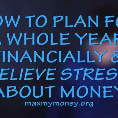 How to Financially Plan the Year and Live Stress Free About Money