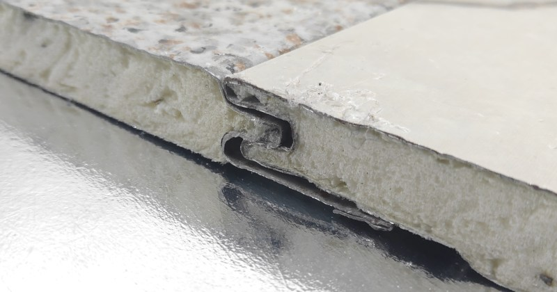 IND facade panel joint