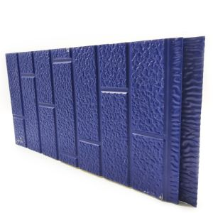 IND FACADE PANEL Standard Brick Pattern Blue color