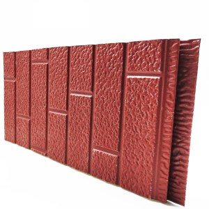 IND FACADE panel Red brick pattern