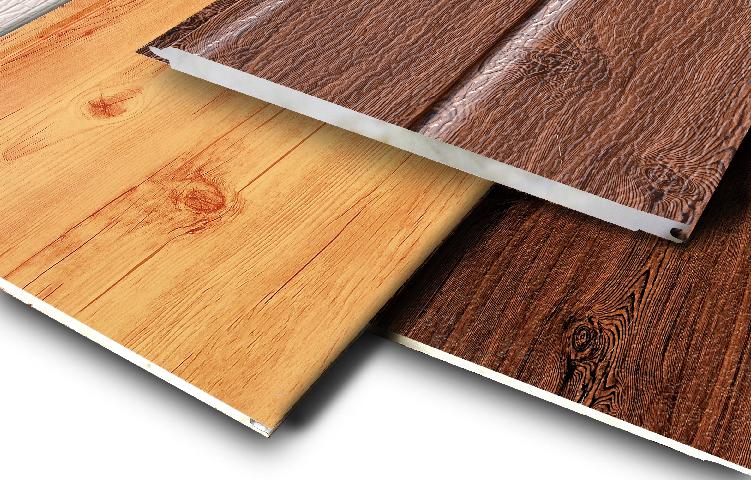 wood panttern facade panel