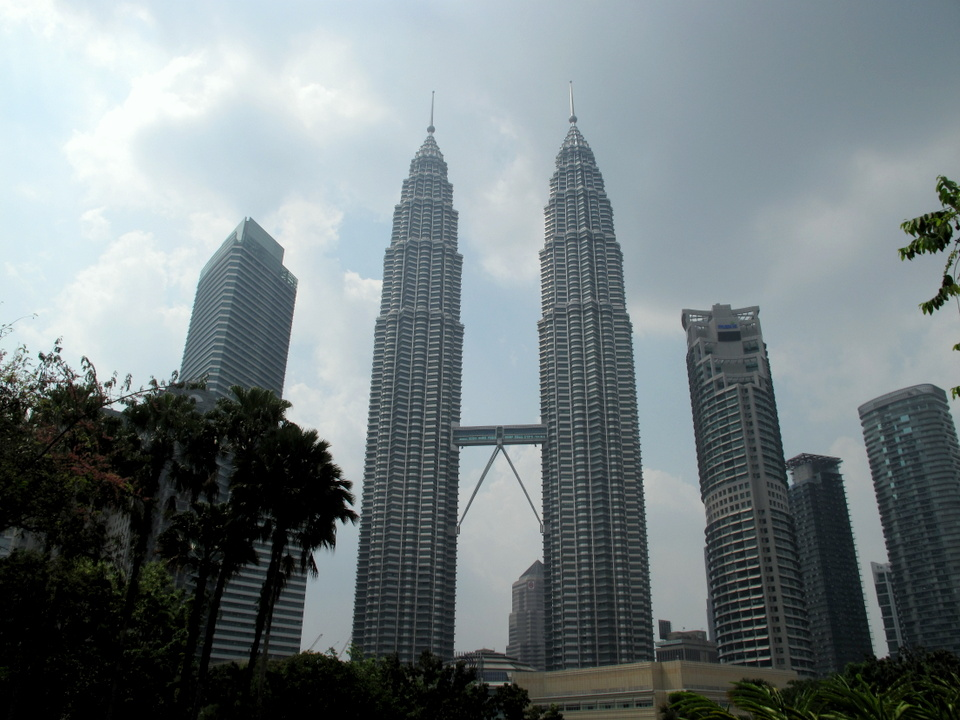 Petronas Twin Towers в Куала-Лумпуре