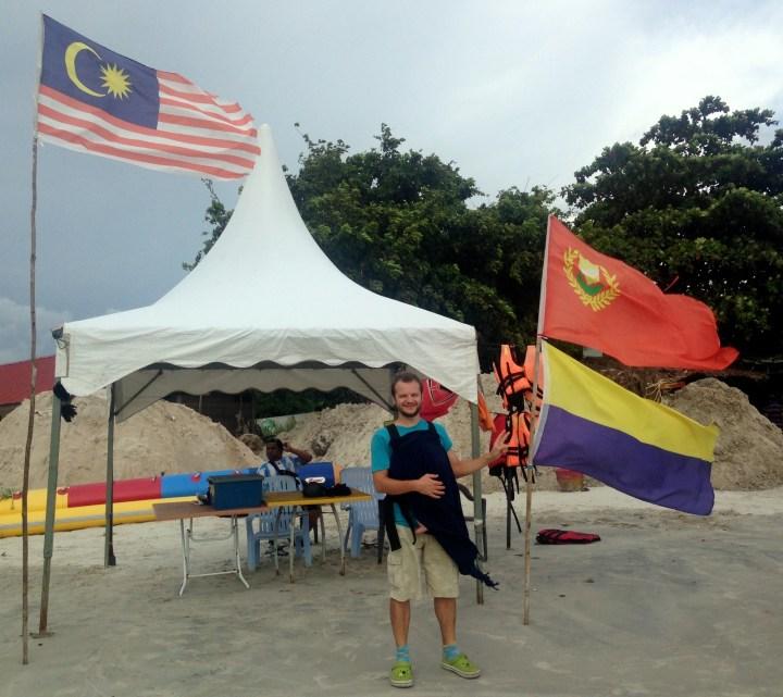 Флаги Малайзии и штатов Кедах и Перлис