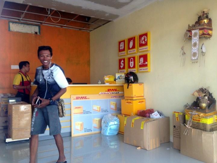 DHL в Куте на Бали