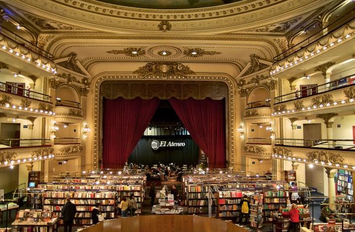 Книжный магазин El Ateneo в Буэнос-Айресе