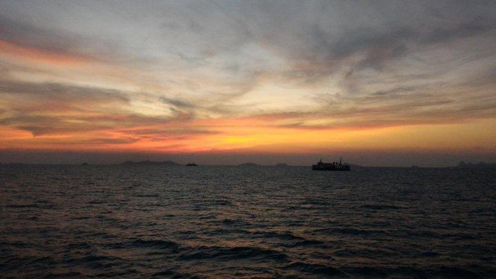 Закат над Сиамским заливом