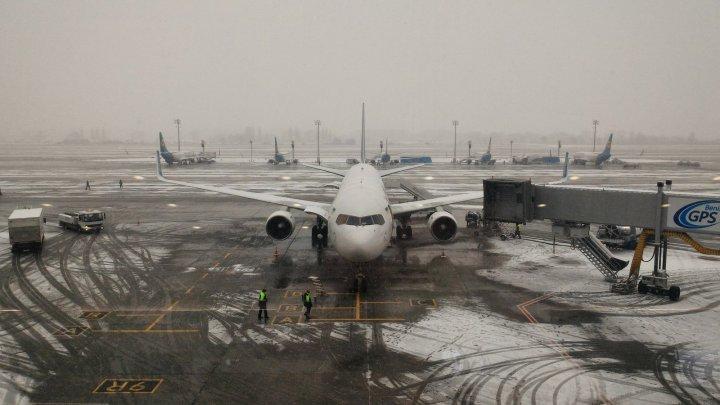 Самолет МАУ в Борисполе