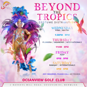Beyond The Tropics Costume Distribution