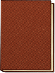 empty blank paper isolated notebook