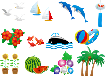 summer clipart clip sommer whale dolphin toilet paper palm tree beach roll sea hd orca mammal killer marine pixabay kindpng