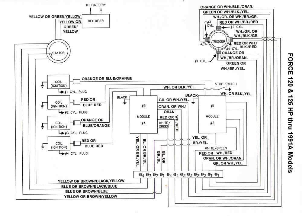 boat wiring diagrams manuals parallel circuit diagram chrysler outboard -- mastertech marine