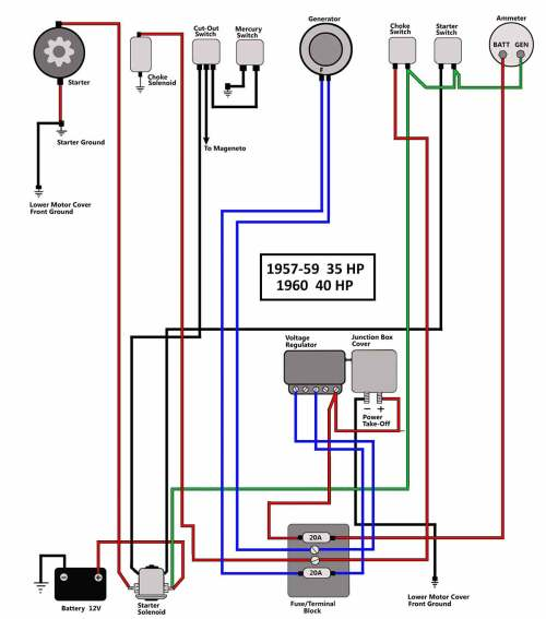 small resolution of mariner magnum 40 hp wiring diagram wiring diagram review wiring diagram for mariner outboard