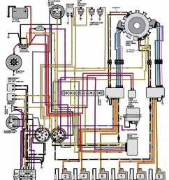 mercury boat motor wiring diagram 1992 v 6 motors 150 175 hp 1986 [ 1100 x 1336 Pixel ]