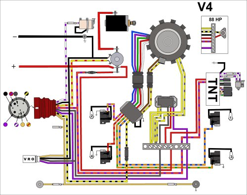 small resolution of evinrude johnson outboard wiring diagrams mastertech marine 1981 50 hp johnson outboard wiring diagram
