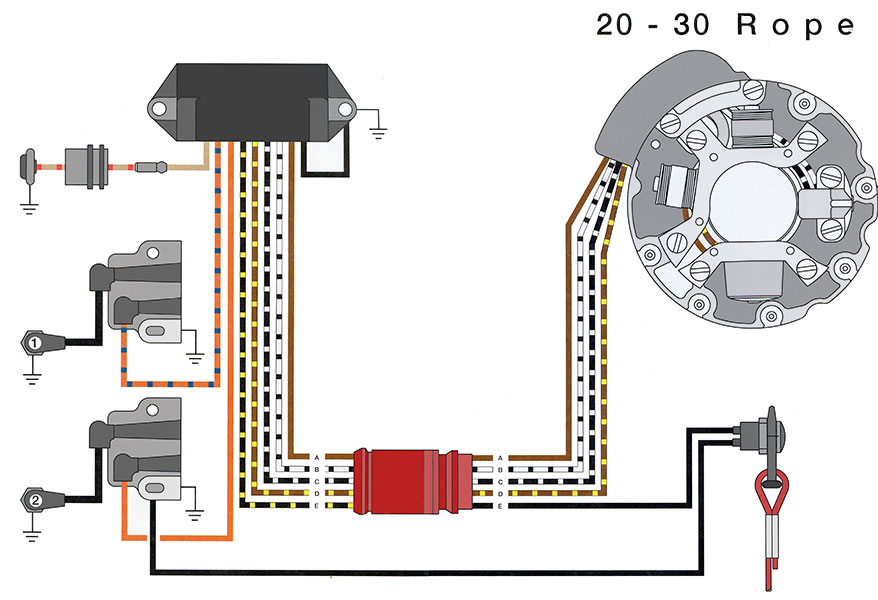 Wiring Diagram For Boat Ignition Switch