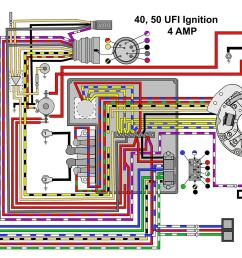 mastertech marine evinrude johnson outboard wiring diagrams40 50 hp with ufi ignition [ 1400 x 1069 Pixel ]