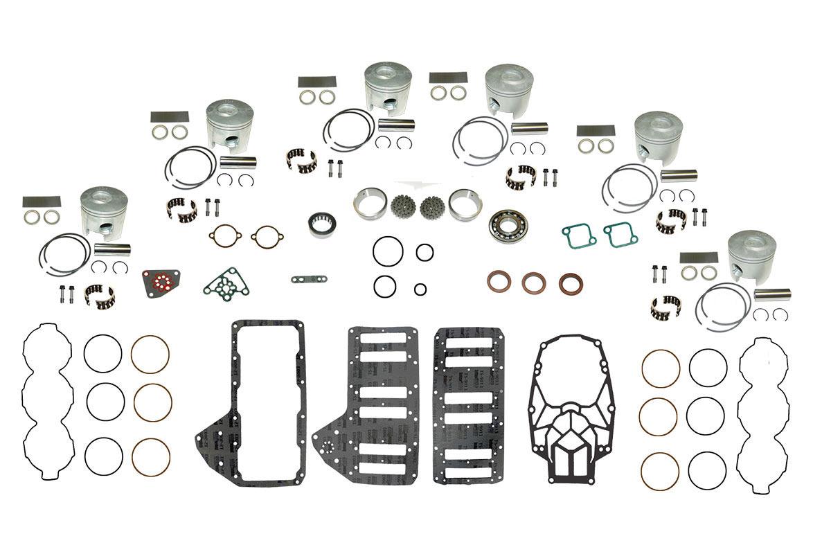 Complete Powerhead Rebuild Kit for Mercury Optimax 3.0L