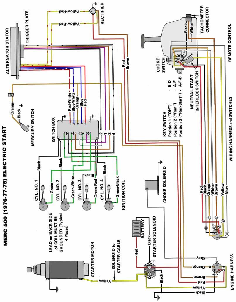 electrical mercury 115hp outboard motor wiring diagram