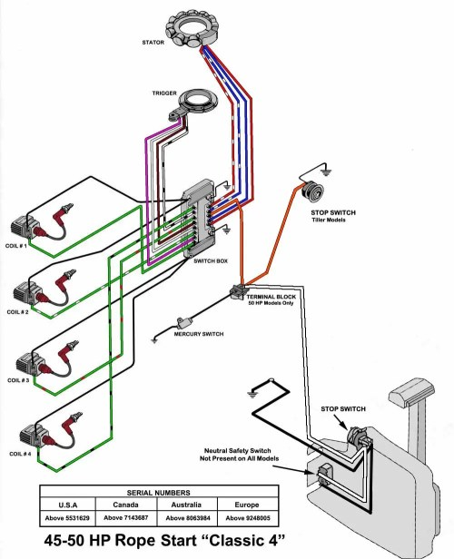 small resolution of mercury 60 wiring diagram