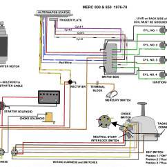 Mercruiser Thunderbolt Ignition Wiring Diagram Kohler Voltage Regulator Mercury Outboard Diagrams Mastertech Marin