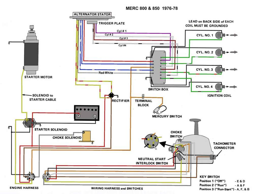 medium resolution of 1985 mercury wiring diagram