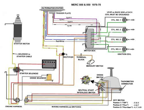 small resolution of 1985 mercury wiring diagram