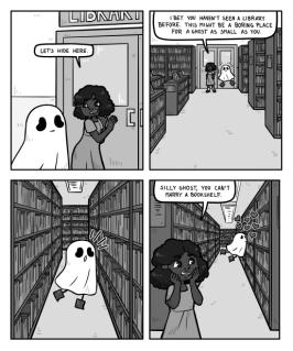 Silly ghost on sarjakuva, jonka olen piirtänyt ja HP Lehkonen käsikirjoittanut. Arvi Tammi arvi.tammi@gmail.com Twitter & Instagram @ArviTammi Silly Ghost Twitter, Instagram & Tumblr @SillyGhostComic Webtoon & Tapas Silly Ghost Queerwebcomic.com Twitter & Instagram @queerwebcomic