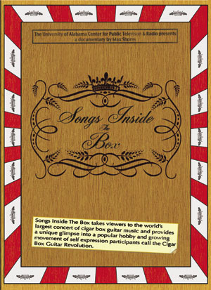 """Songs Inside The Box"" DVD Cover"