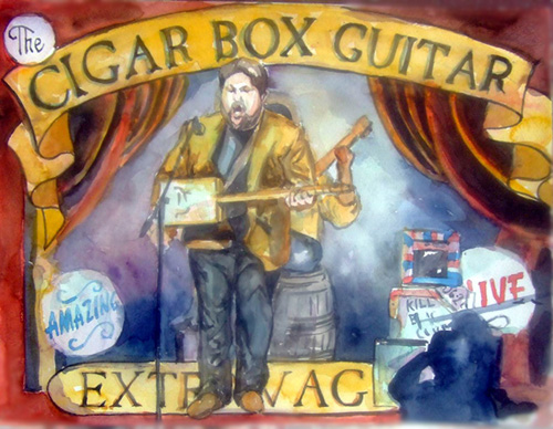 Shane Speal in Songs Inside the Box