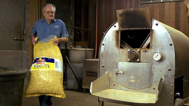 Cecil Williams of the Nut Shop in Tuscaloosa, Alabama