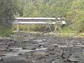 Swann-Joy Covered Bridge in Blount County, Alabama