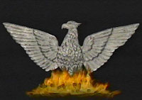 The Phoenix is a mythical bird which obtains new life by rising from the ashes of its predecessor.