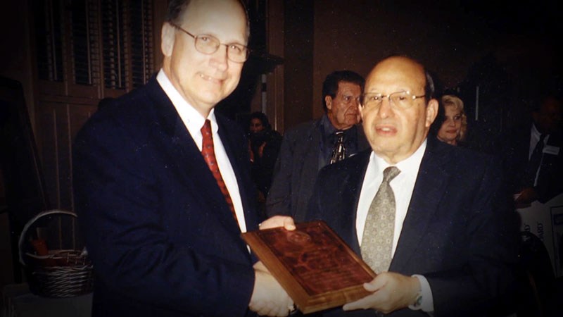 Culley Clark and Stan Siegal