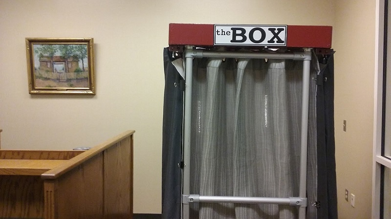 The Box is used to record oral history