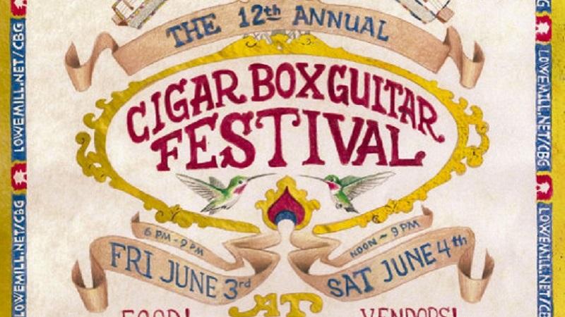 Cigar Box Guitar Festival 2016 in Huntsville, Alabama