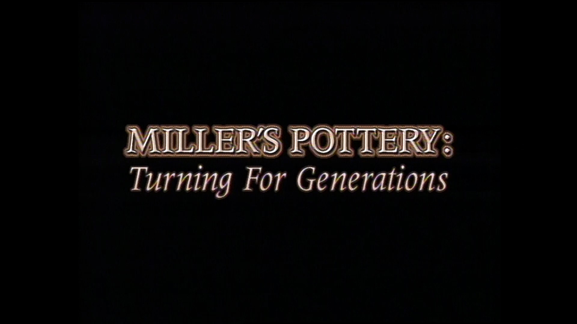 Millers Pottery in Brent, Alabama