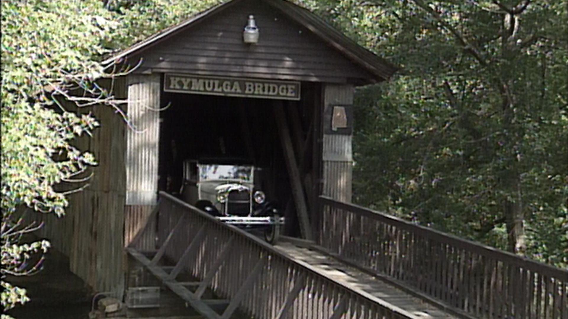 Kymulga Bridge in Childersburg, Alabama