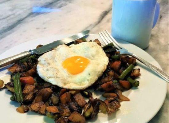 Time for Breakfast – Skillet Vegetable Hash