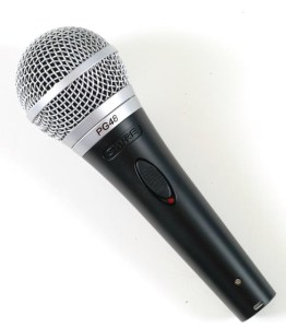 Gimme the microphone
