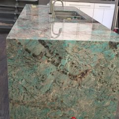 Floors For Kitchens Rustic Kitchen Cabinet Amazonite Quartzite Island And Onyx - Maxspace ...