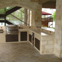 Patio Kitchen Cabinet Shelving 2 Ultimate All Weather Countertops For The Maxspace